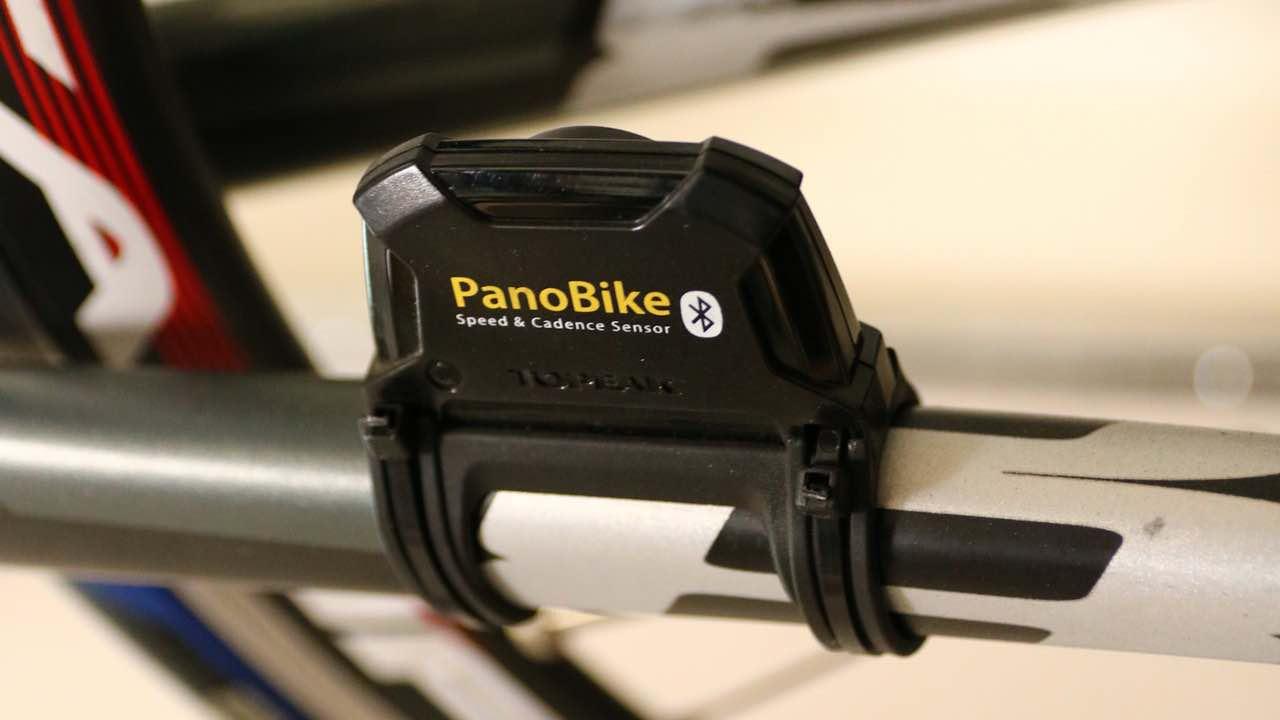 トピークのスピードケイデンスセンサーパノバイク