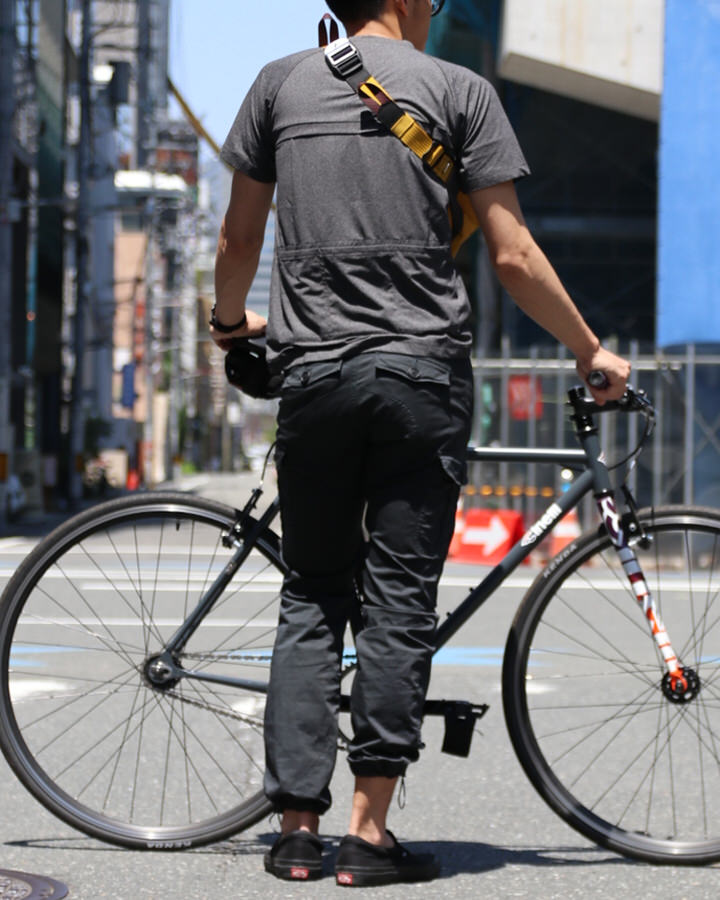 ライトウェイトベンチレーションTシャツ【Elso】