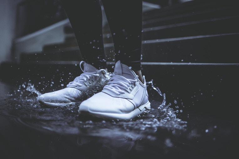 ロードバイク通勤の雨の日の靴