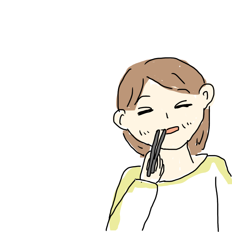 を 持つ 手 イラスト 箸