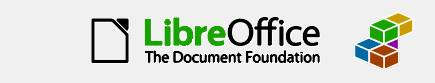 LibreOfficeの画面