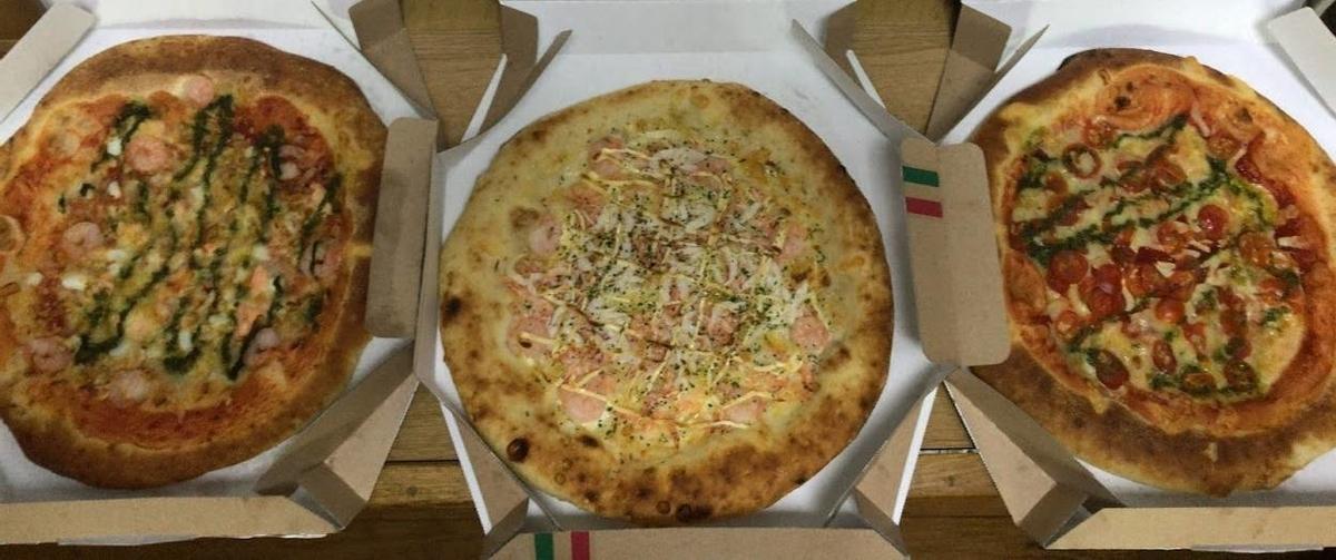 オーケーストアの手作りピザの写真