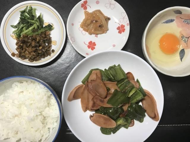ソーピー&生玉子かけご飯