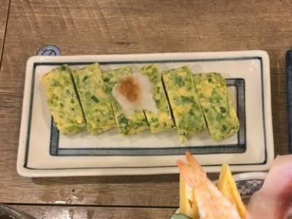 磯丸水産のしらす海苔卵焼