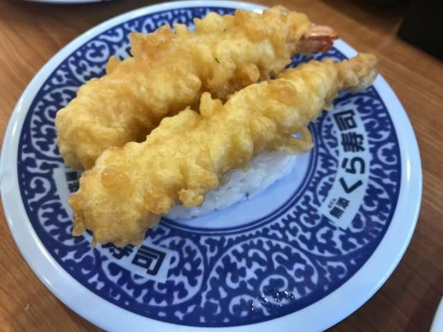 くら寿司のえび天寿司