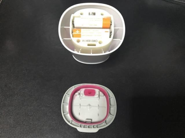 ミューズノータッチ泡ハンドソープの電池ボックス