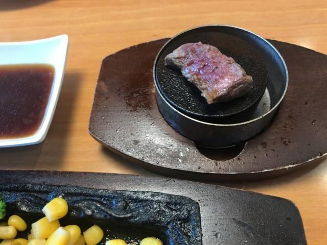ステーキ宮の肉