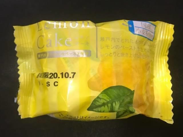 Lemon Cakeレモンケーキのパッケージ