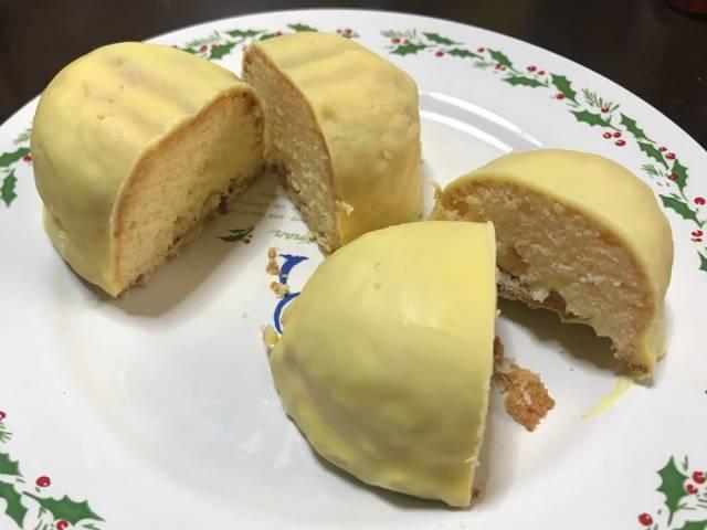 カットしたレモンケーキの比較