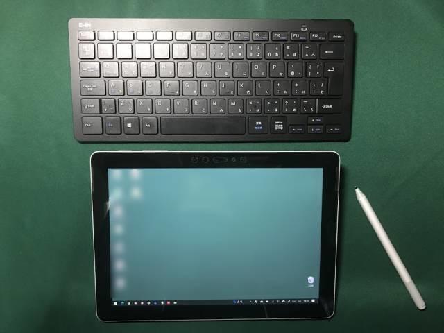 Surface Goのお絵かきモードとEwinキーボード