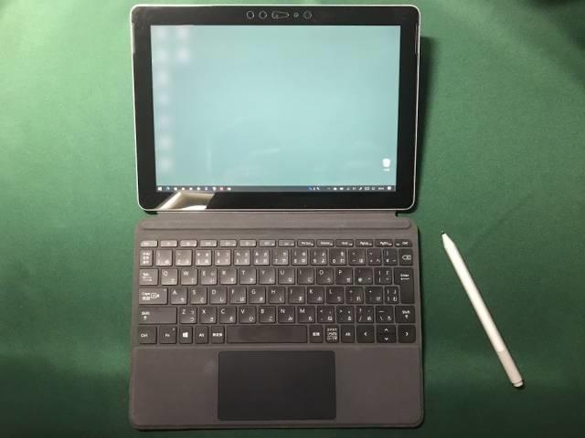 Surface Goのお絵かきモードではキーボードカバーは邪魔