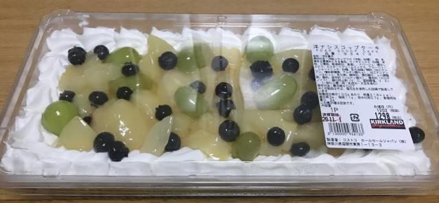 コストコの洋ナシスコップケーキのパッケージ