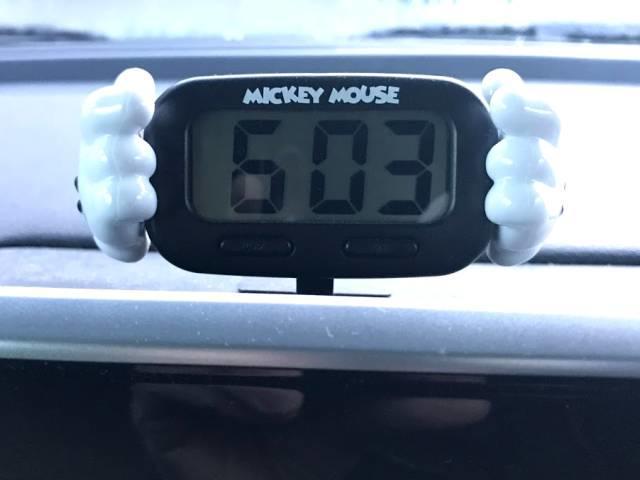 現在のクルマの時計