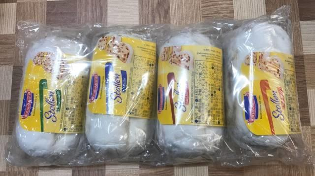 コストコの「シュトレーン」のパッケージ