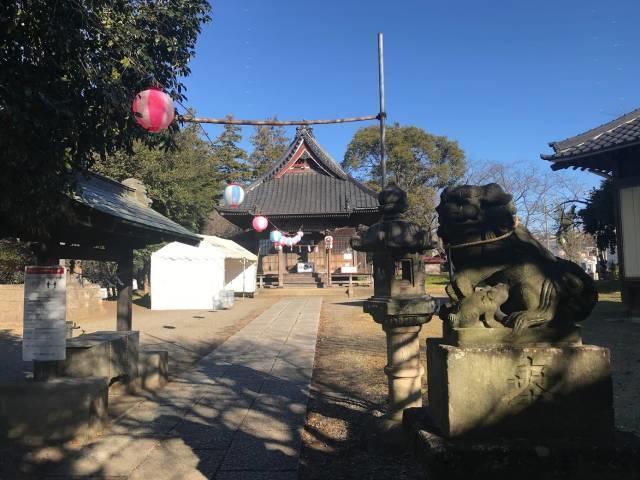 初詣の近所の神社1