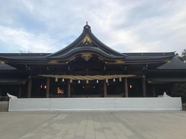 寒川神社の御本殿