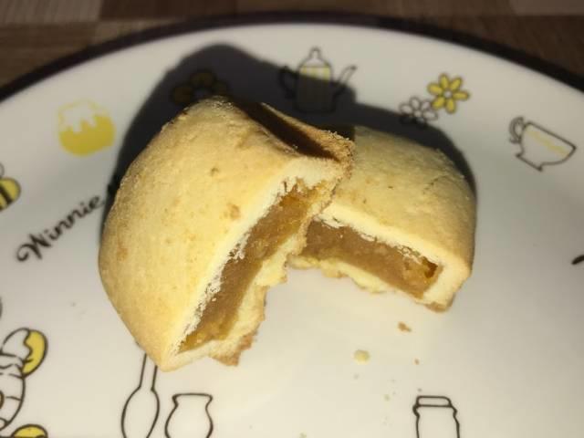 パイナップルケーキの断面