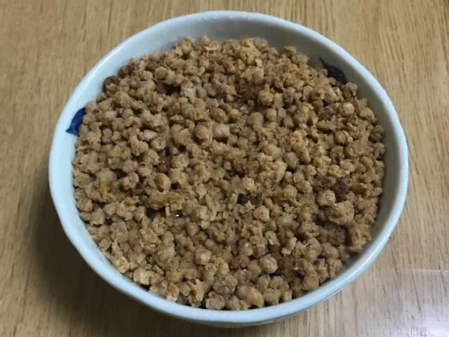 ダイズラボの「大豆のお肉」(ミンチタイプ)