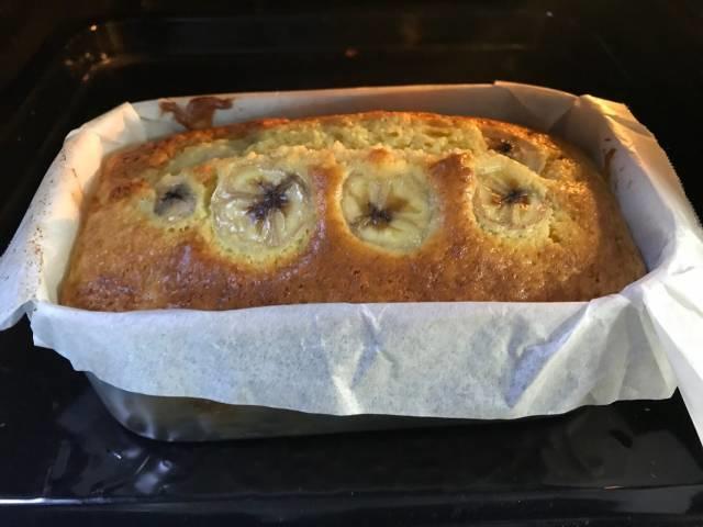 メスティンのパウンドケーキ焼き上がり