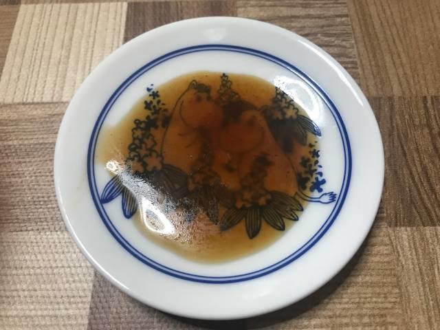 「ご飯に合う濃厚焼肉タレで食べる旨~い極小粒納豆」のタレ