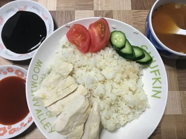 「海南鶏飯」の完成