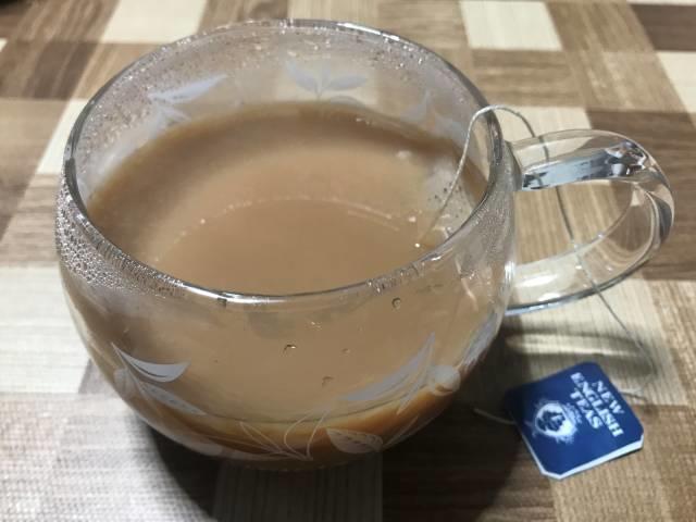 English Breakfast Teaはミルクティーによく合う
