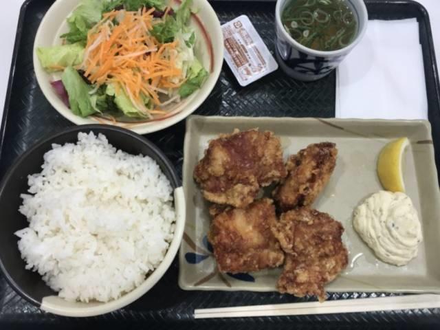 「鶏千タルから定食」