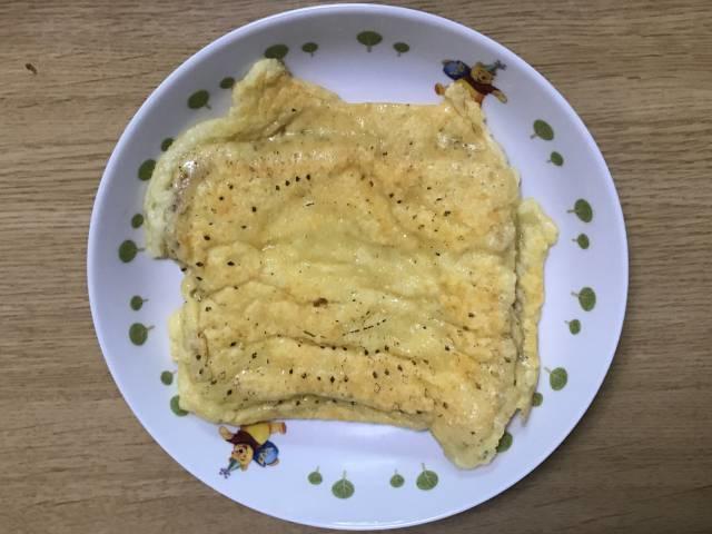 シンプルなカリカリチーズトースト