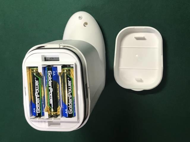 キレイキレイオートディスペンサーの電池