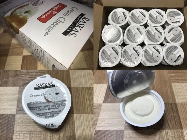 コストコのRASKASクリームチーズ