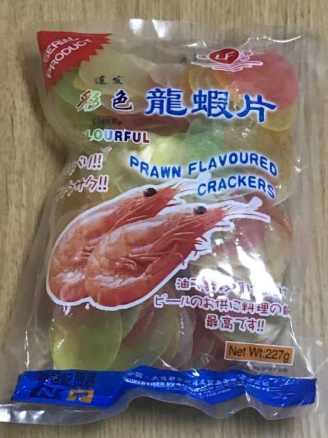 協同食品の「龍蝦片」パッケージ