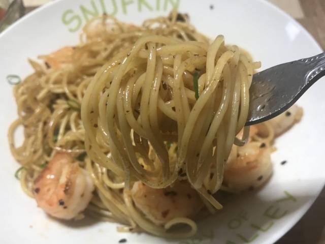 スパゲティも香ばしい