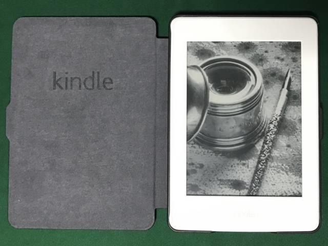 第7世代Kindle Paperwhiteと新しいカバー