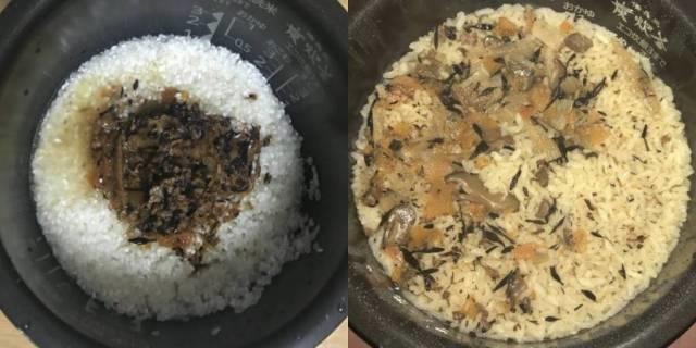 「ジューシーの素」でご飯を炊く