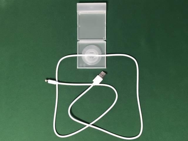 USBケーブルをセット
