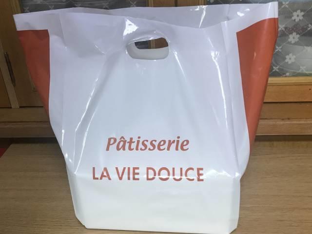 パティスリー・ラ・ヴィ・ドゥースの袋