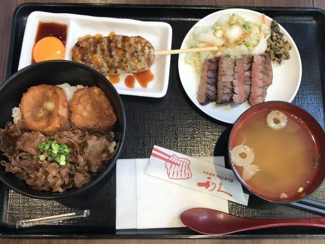 仙臺たんや利久の「牛たんづくし定食」