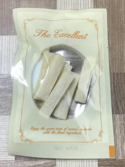 なとりの「カマンベール チーズ鱈」個包装
