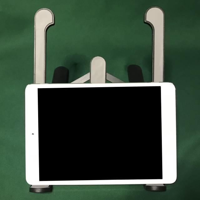 「モバイルPCスタンドMAX」とiPad mini