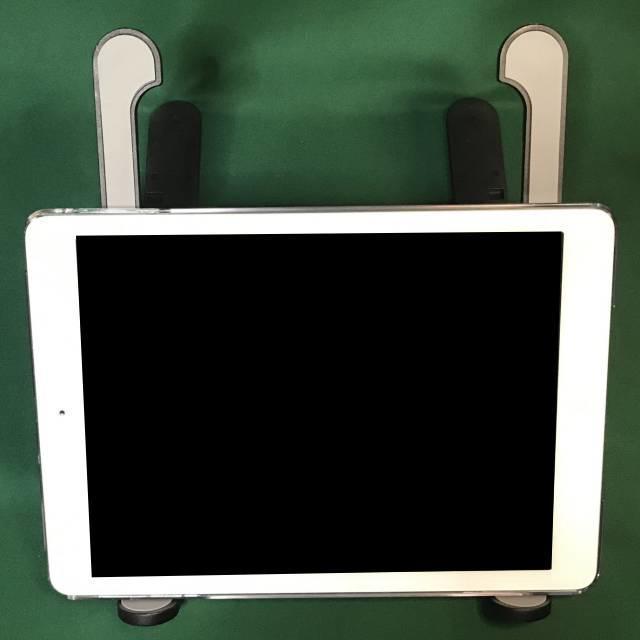 「モバイルPCスタンドMAX」とiPad Air