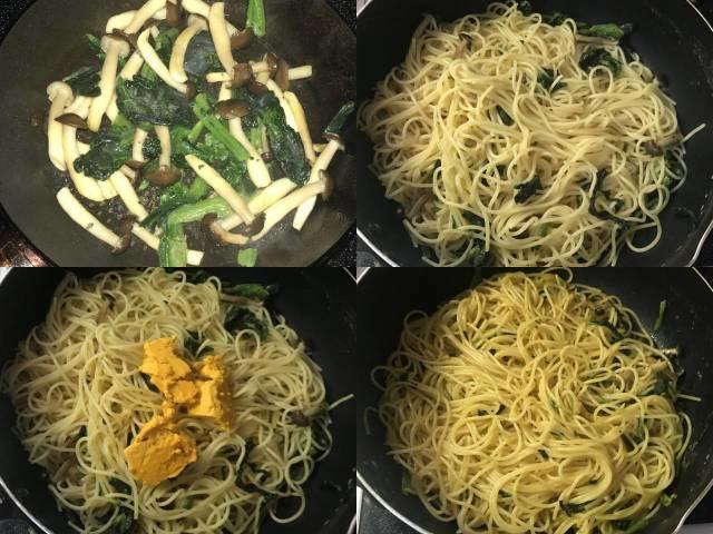 カルディ「うにバター」でスパゲティを作る
