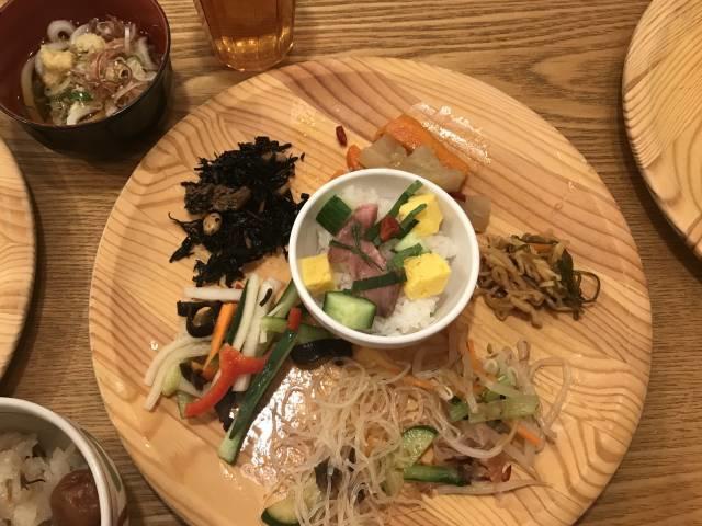 「旬菜食健ひな野」のふた皿目