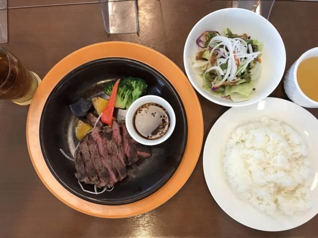 「北海道産赤身ランプステーキ」