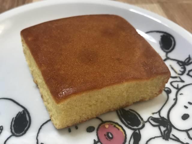 ダイソー「しっとりとしたチーズケーキ」の外観