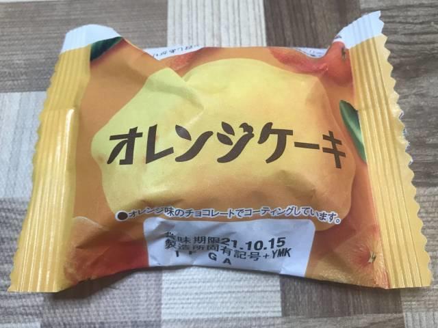 ダイソー「オレンジケーキ」