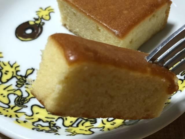ダイソー「しっとりとしたバターケーキ」をひとくち