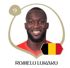 ベルギー代表9番ロメル・ルカクとは