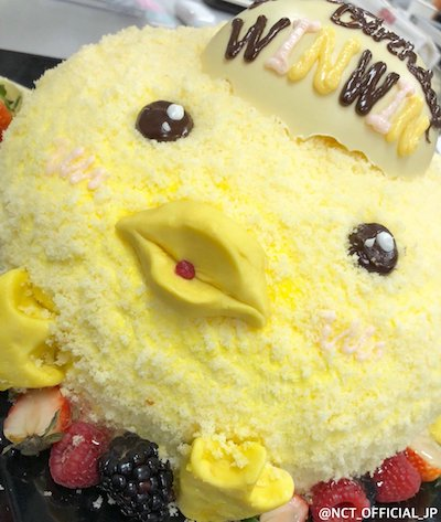 nct127 ウィンウィンのバースデーケーキ