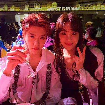 nct ジョンウとジェヒョンの画像