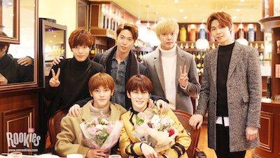 nct127 ジェヒョンとメンバーたちの画像